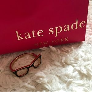 Kate Spade Goreski Lookout Glasses Bangle Bracelet